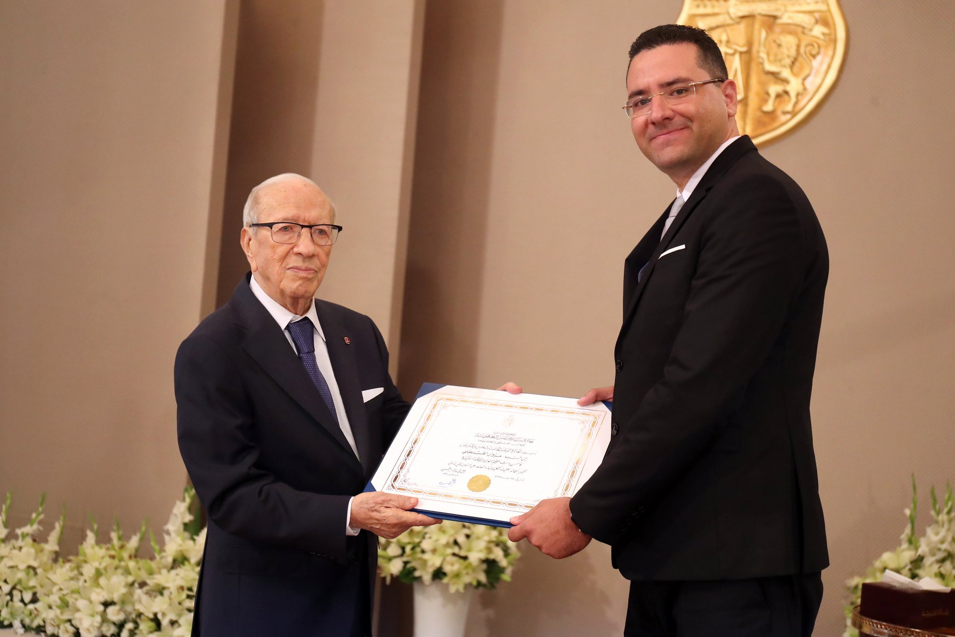 Dr. Kessentini received the prestigious 2018 President of Tunisia Distinguished Research Award